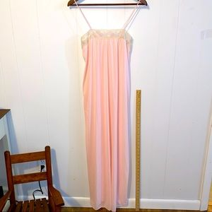 Sears Nightgown Pink S 32/34 GUC Vintage